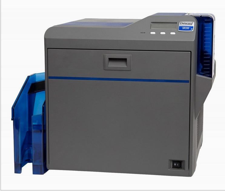 入户卡证卡打印机,转印证卡打印机Datacard SR200打印机