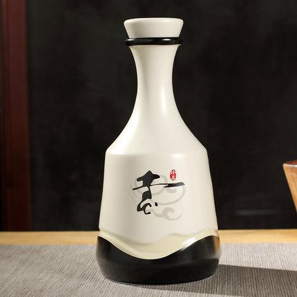 冰裂纹陶瓷酒瓶 青花瓷酒瓶 陶瓷酒瓶厂家