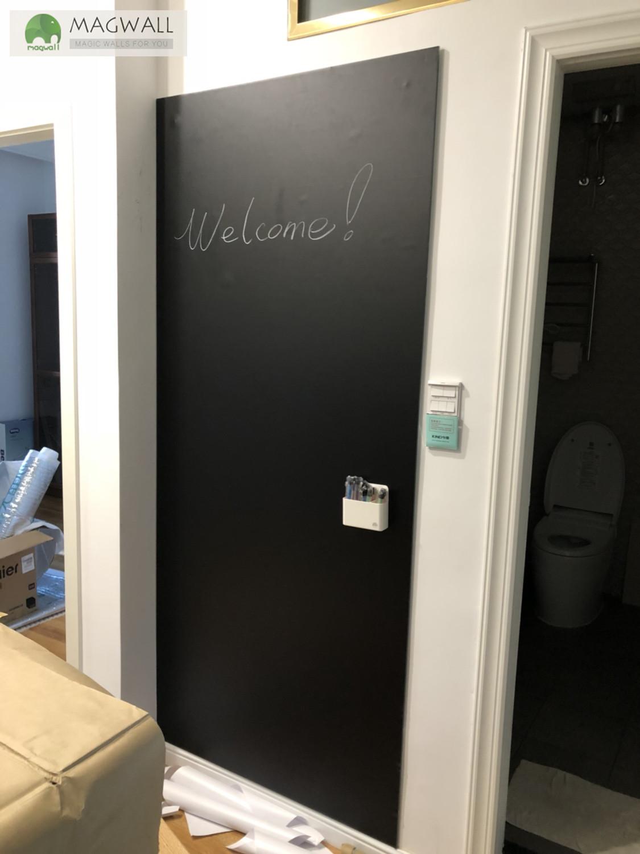 磁善家流畅擦写不伤墙创意磁性黑板墙贴 可移除