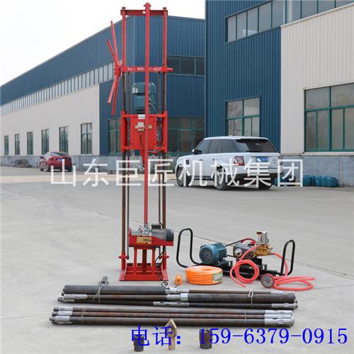 QZ-2D小型岩石电动钻机地质勘探钻机工程取样 岩心钻机便携式