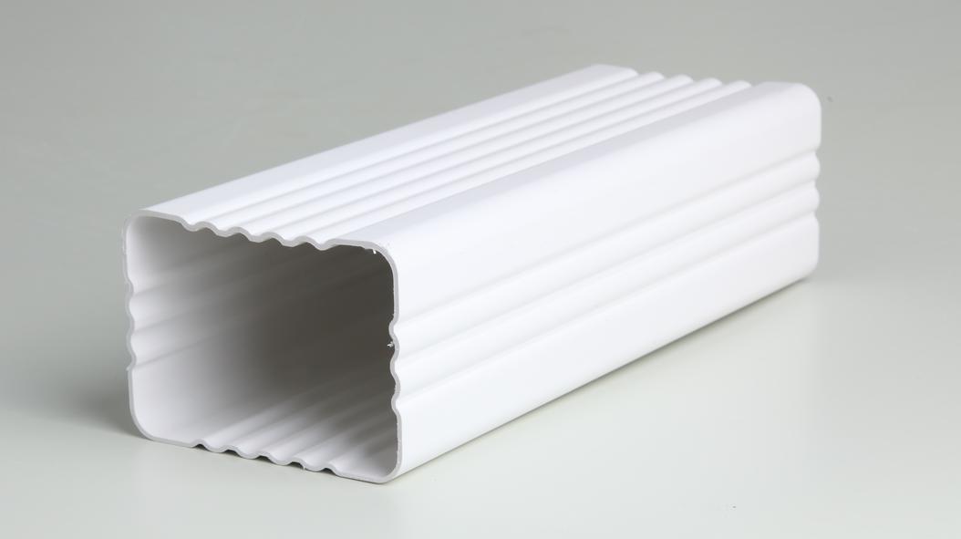 邯郸市家用落水系统 别墅用PVC落水管 房屋改造用PVC落水管 PVC檐沟