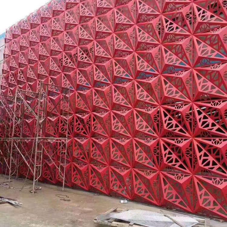 天津异形铝单板幕墙装饰板厂家