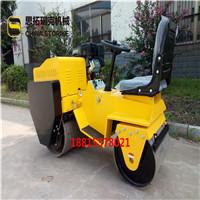 济宁双钢轮座驾式压路机振动压土机工厂供应压路机