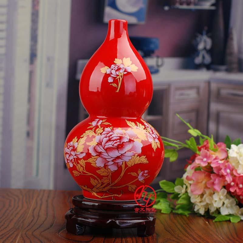 年终礼品家居摆件花瓶定制厂家