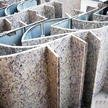2018新品热卖办公楼外墙仿大理石铝单板国标正品