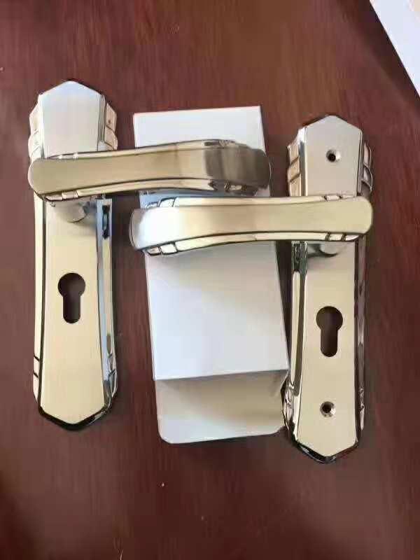 供应揭阳三鹏304不锈钢室内锁室内机械门锁套装门锁