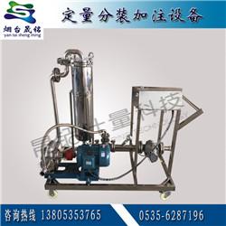 防凍液自動定量分裝大桶設備 油酸自動灌裝 山梨醇自動分裝機