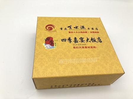 百色广告纸巾——盒装餐巾纸纸定制——选好印象纸品