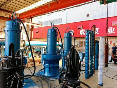 水池使用90kw卧式潜水泵-耐高温卧式潜水泵品牌厂家