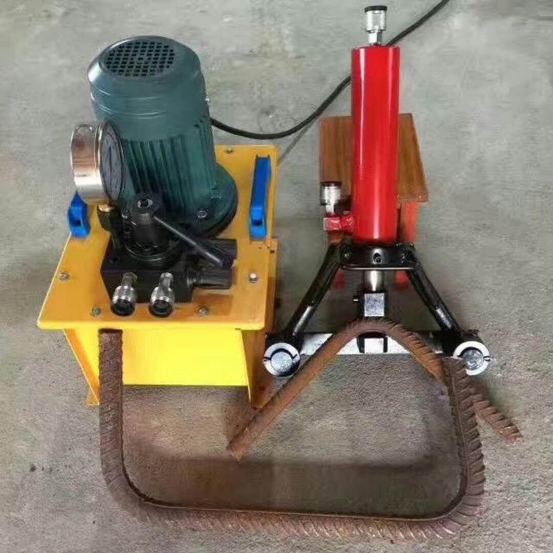 手提式钢筋弯曲调直机液压32型手持式钢筋弯曲机生产厂家