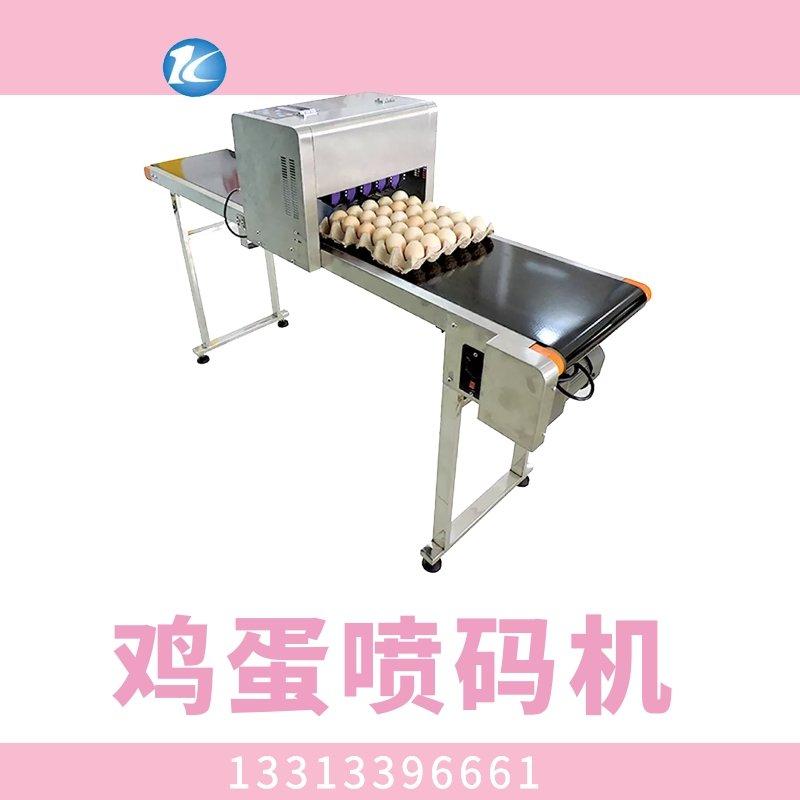 南昌雞蛋噴碼機小型整盤6噴頭雞蛋噴碼機價格
