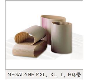 专业代理销售MEGADYNE麦高迪同步带,白色麦高迪PU同步带