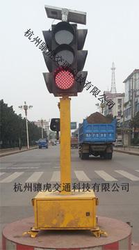 清远市公路路口应急红绿灯 太阳能移动红绿灯报价