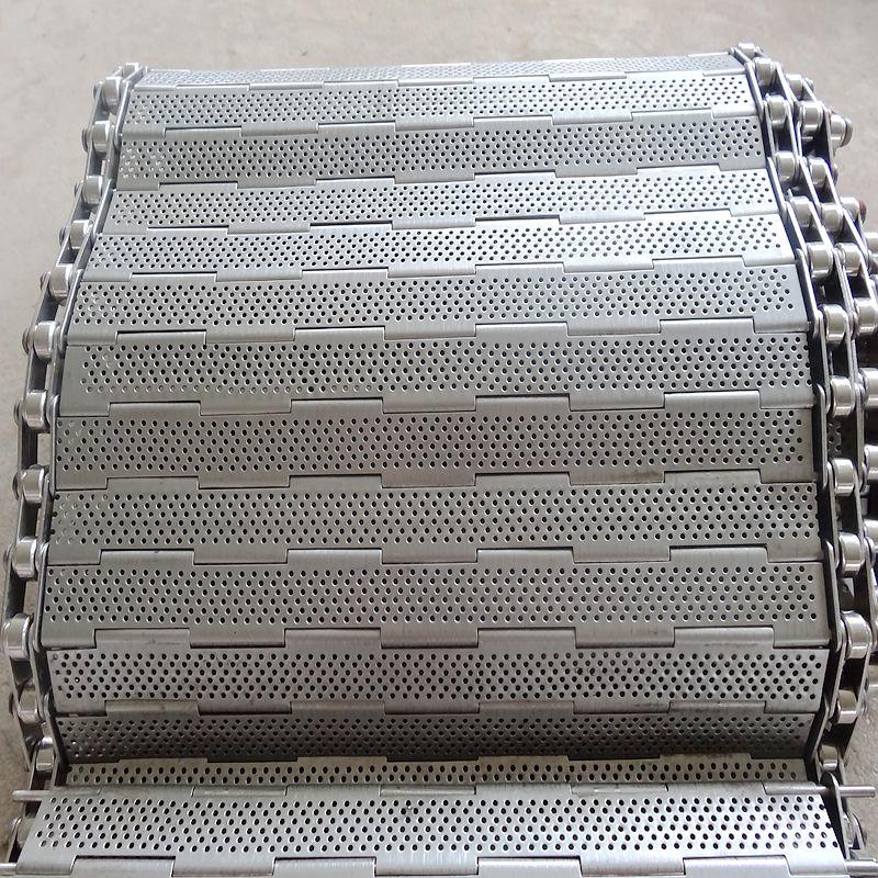 生产厂家直销不锈钢冲孔链板 食品烘干机链板 输送链板