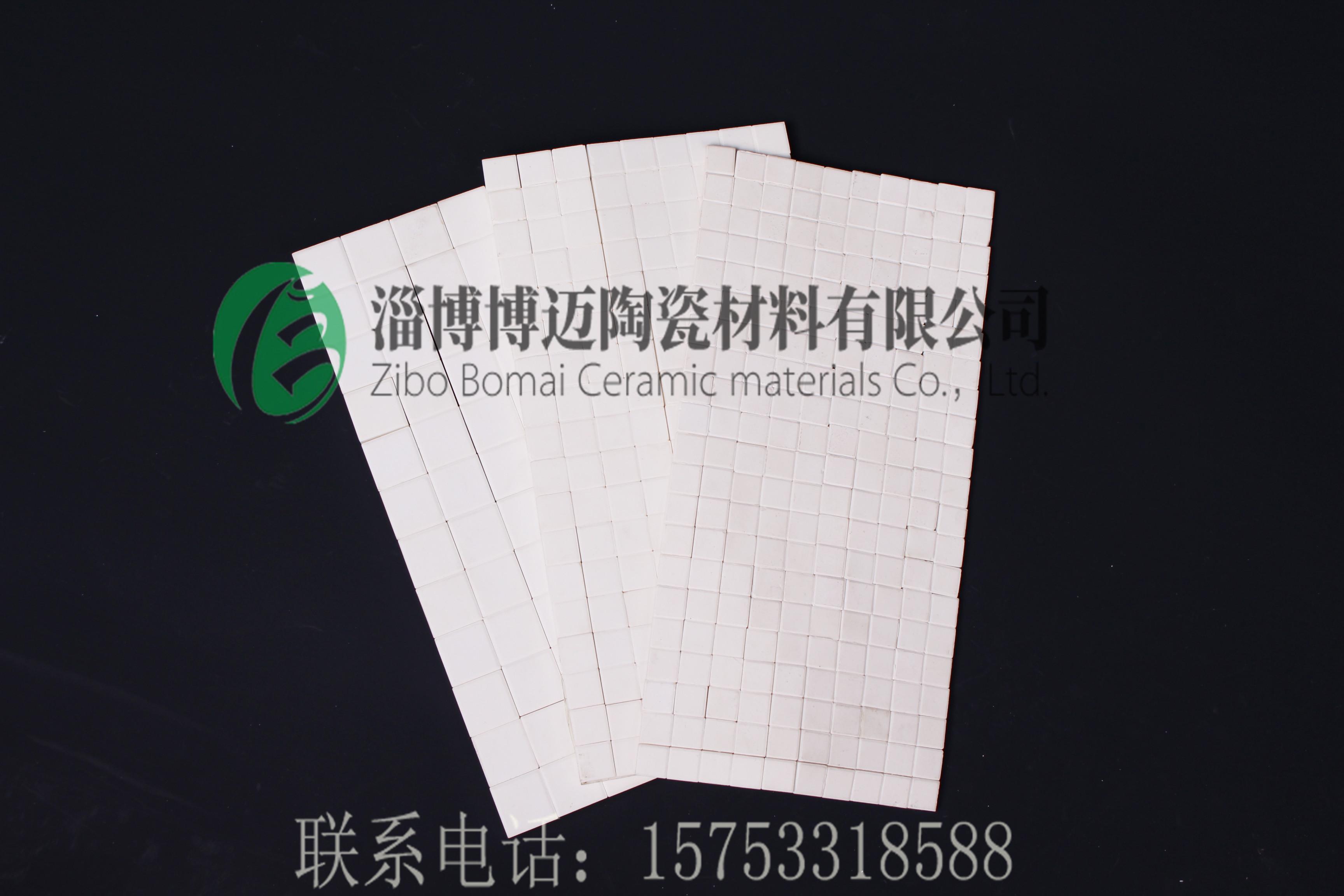 【推薦】博邁廠家直供丨耐磨氧化鋁襯片丨陶瓷馬賽克丨高鋁襯片