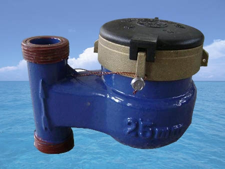 立式水表 浪花水表