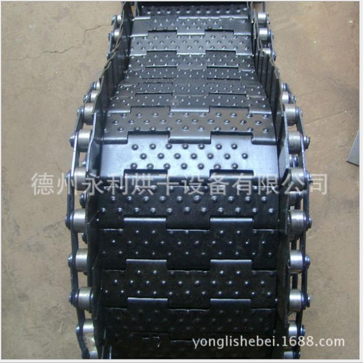 厂家定制煮黑、热处理链板 机械输送链板 档边链板