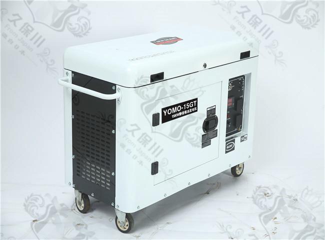 15kw静音久保川车载柴油发电机