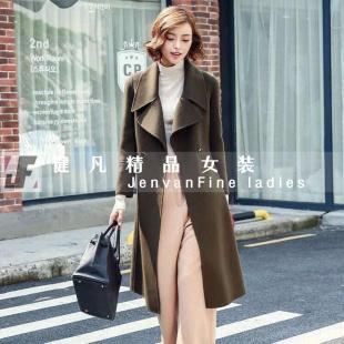 高档大衣货源|品牌折扣女装|专柜女装尾货批发