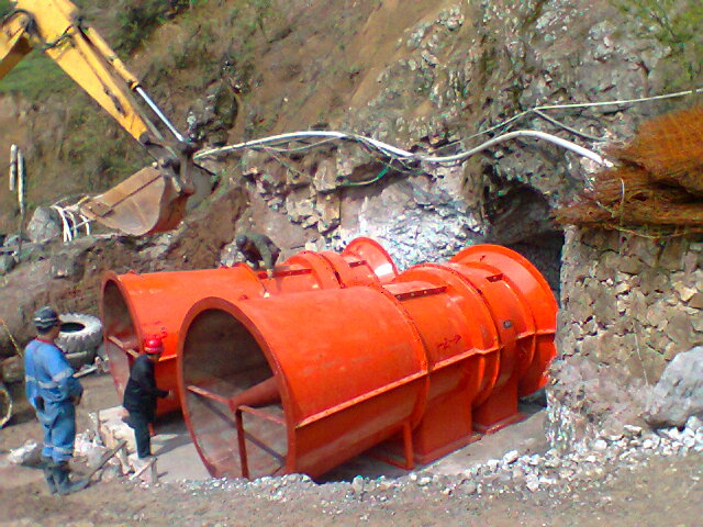 K40矿用风机矿井抽出式风机