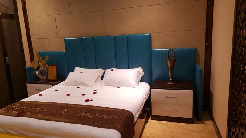 賓館家具電視桌公寓酒店家具標間全套定制桌椅床頭軟包單間客房床