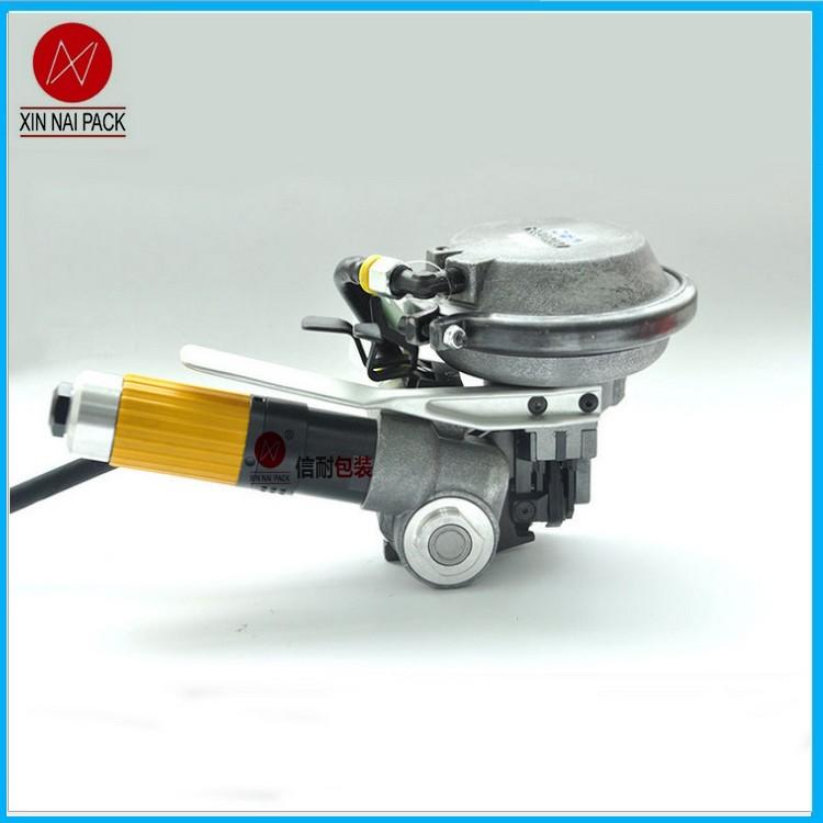 氣動鋼帶打包機 鋼板打包機 臨沂鋼卷打包機 鋁卷線材打包機