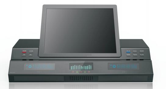 桌麵式同步錄音錄像係統 HD2