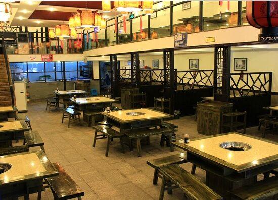 專業供應酒店家具鋼化玻璃火鍋桌大理石餐桌 電磁爐桌子 火鍋桌