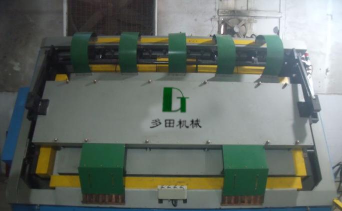 大型高频斜面拼板组框机