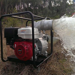 輕便型6寸汽油機移動泵站