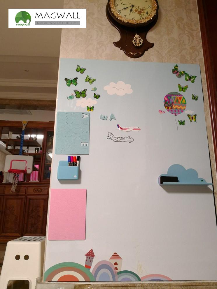磁善家儿童房客厅居家装饰可擦写磁性儿童墙贴