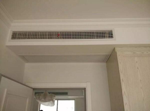 无锡美的安装家用风管机有哪些辅材
