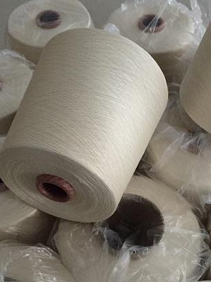 莫代爾絹絲混紡紗60支本白廠家供應