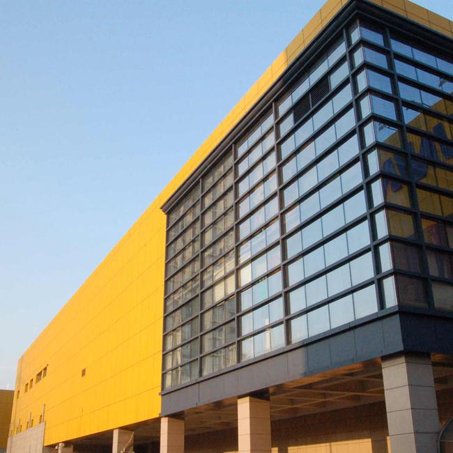 天津铝单板幕墙铝板冲孔