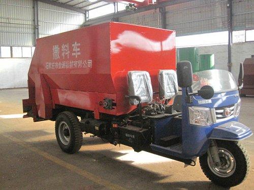 宾利达牌青贮喂料车 SLC-5立方TMR青贮撒料车