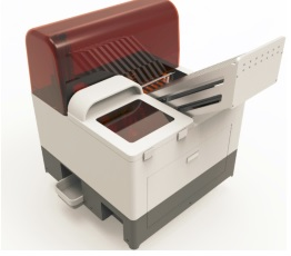 真空采血管条形码打印粘贴系统