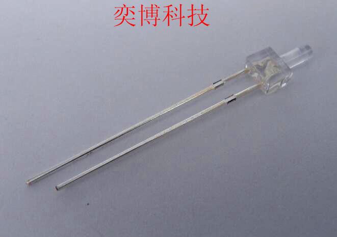 廠家定制 LED燈珠 發光二極管 2mm塔型白發藍透明