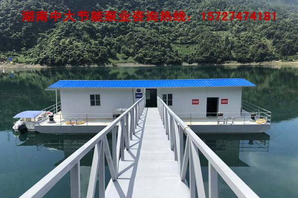 专业制造取水泵船 订做泵船