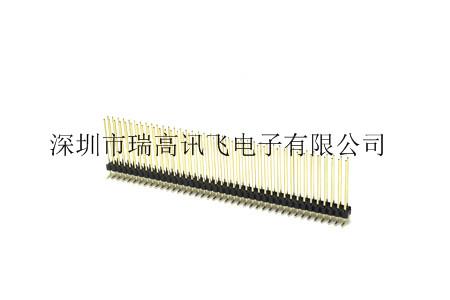 深圳供应四排180度排针连接器厂家