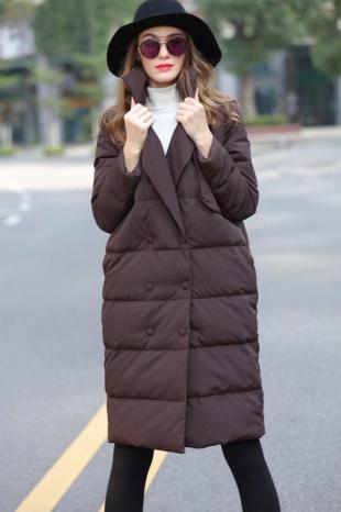女式羽絨服尾貨|中高檔庫存服裝|秋冬防寒服一手貨源