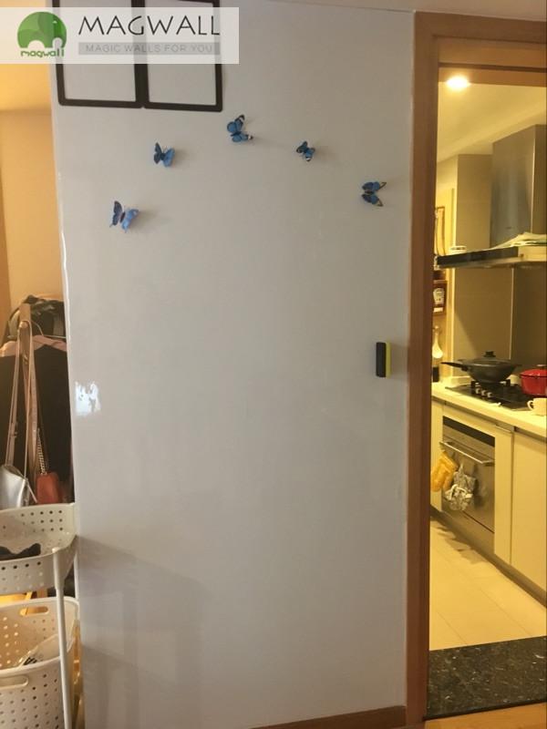 厂家直销磁善家办公培训多用自粘磁性软白板