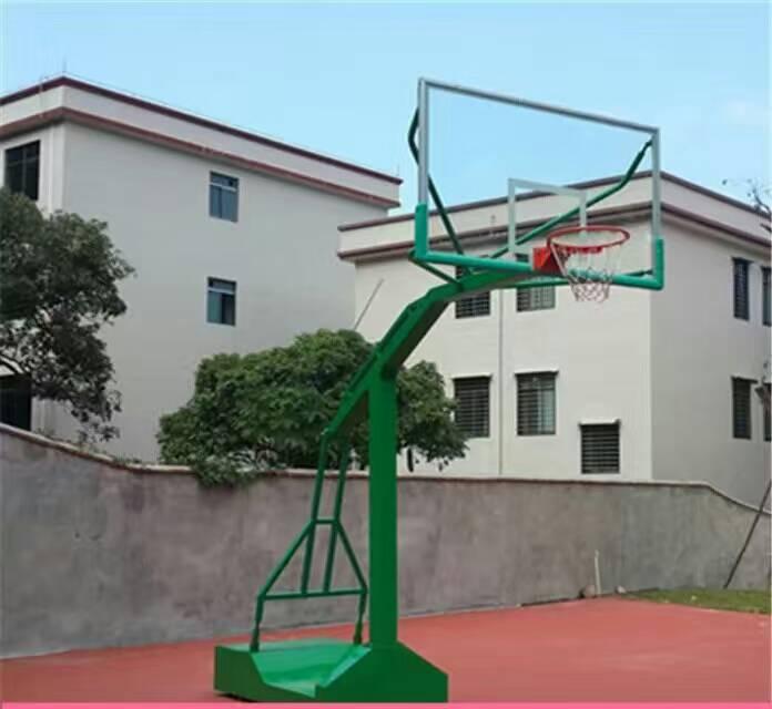 廣西橫縣籃球架價格 室內籃球架 室外可移動籃球架 學校籃球架