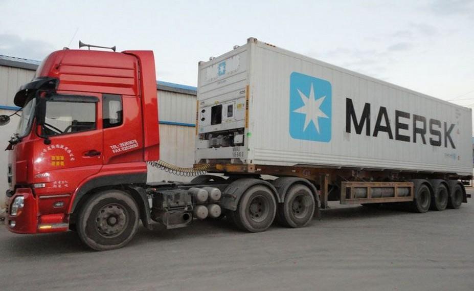 青島服務好的集裝箱車隊-青島創融運通國際物流有限公司
