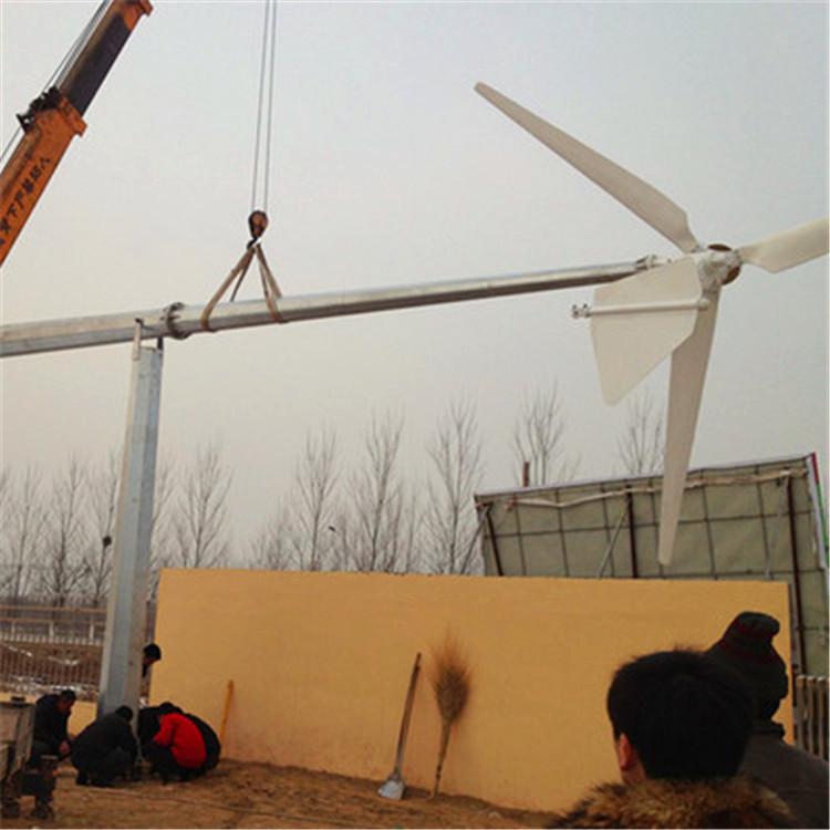风力发电机微型两用纯铜线低速永磁发电机质量保证