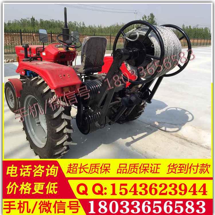 500型300型四輪拖拉機絞盤拖拉機改裝牽引機雙杠絞車大馬力四輪絞磨機