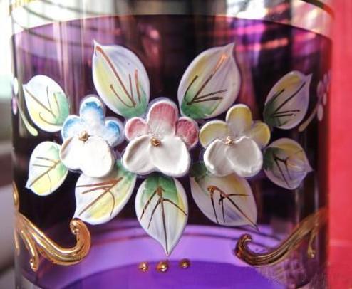 玻璃浮雕粉油墨