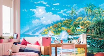 广东省在哪能买到品质好的KTV主题包房壁画厂家,供应