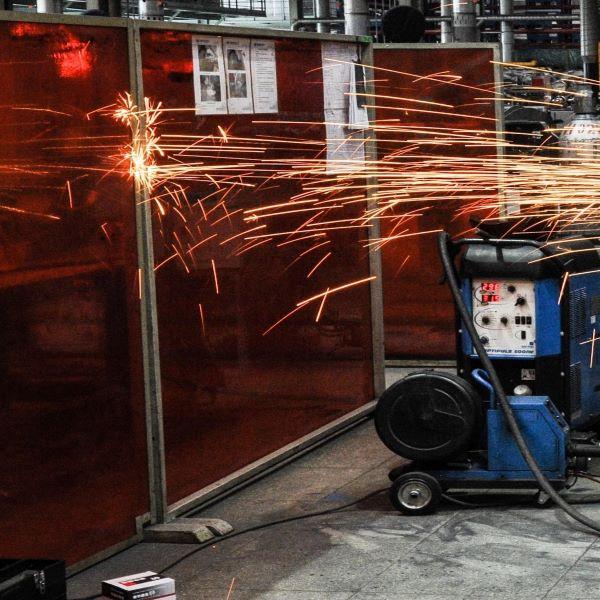 金枝長祥防焊渣飛濺電焊遮光板