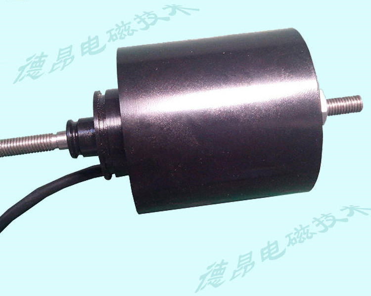 15公斤推拉力圆柱式电磁铁定制