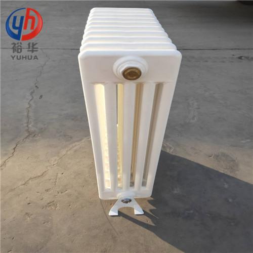 QFGZ505钢五柱暖气片的焊接过程